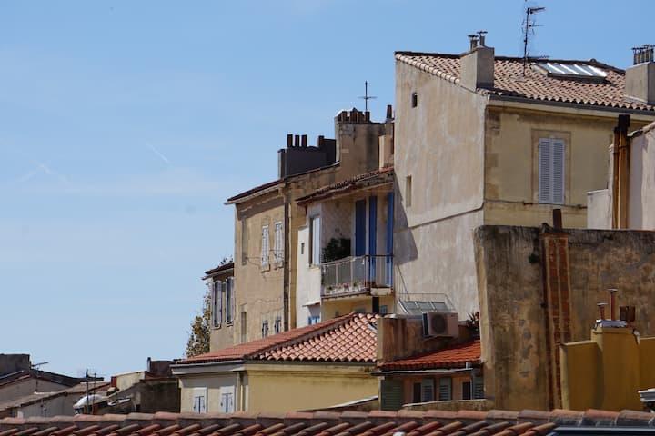 Les toits du Panier