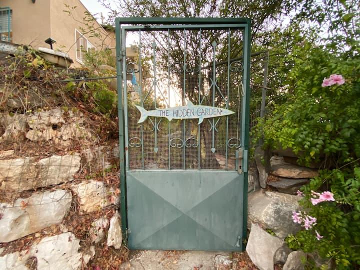 The Hidden Garden in Kiryat Tivon
