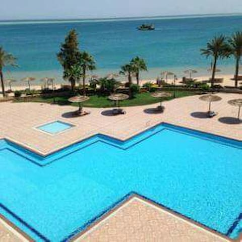 Hotel Apartment sea view and garden - Hurghada