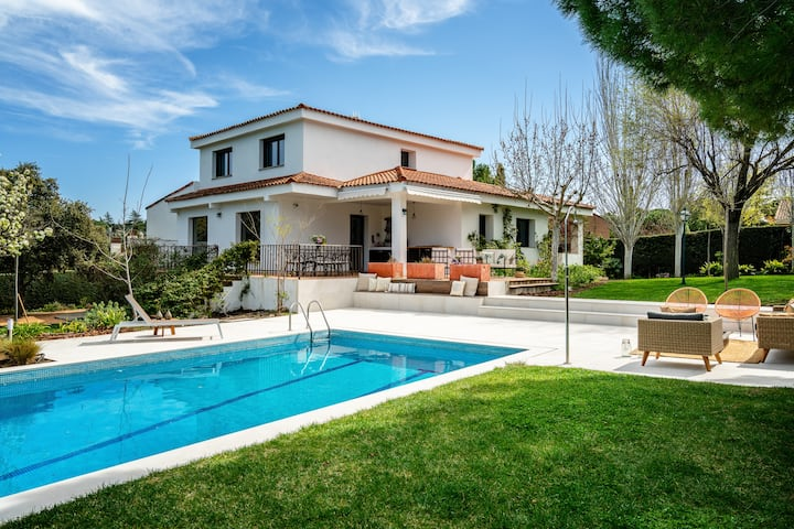 Amazing Villa only 20 minutes from Madrid
