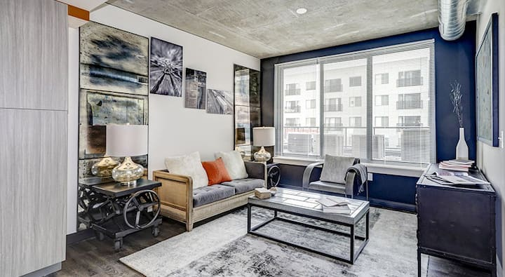 Relax in comfort | 1BR in Washington