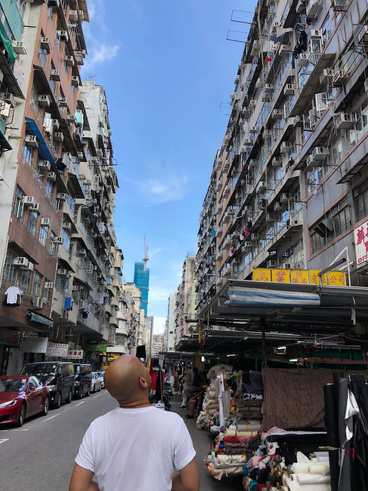 Old HK residential buildings