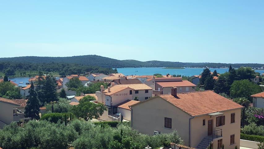 Garni Room 1 - Sea View, Balcony, Beach (200m)