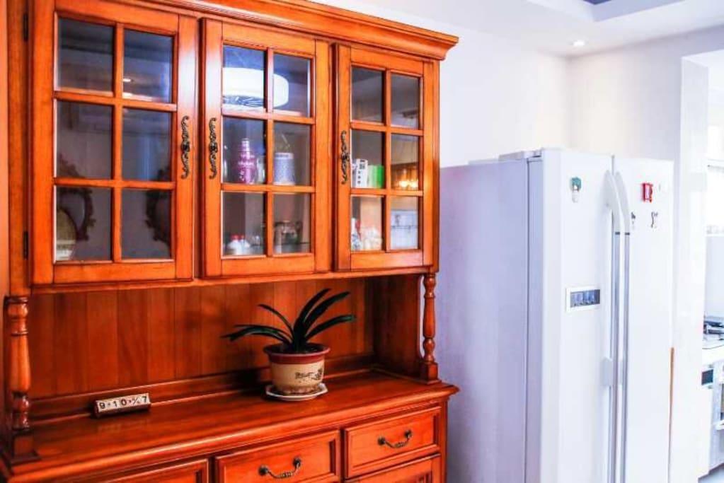 干净明亮的厨房 ,给您旅行中增添几分美好的回忆