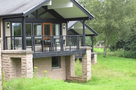 Lux 5* Lodge for 6 on Loch Lomond