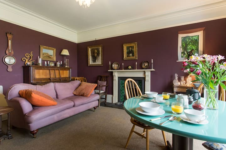 Double Room in Victorian Family House