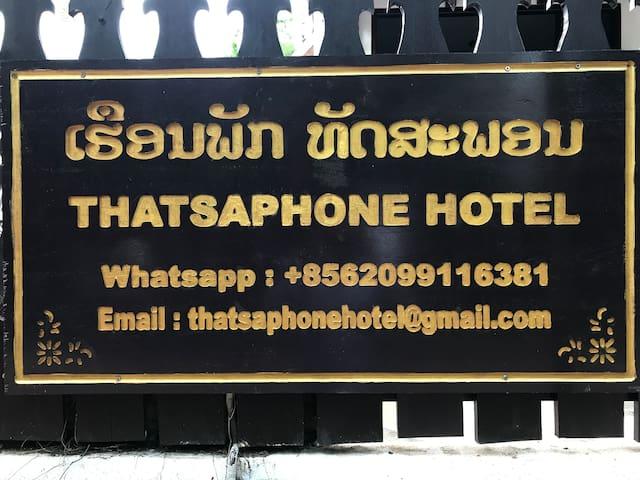 Superior Twin Room of Thatsaphone Hotel