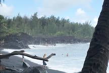 This is the famous Kehana Beach. A photo cannot do it justice. Heavenly.