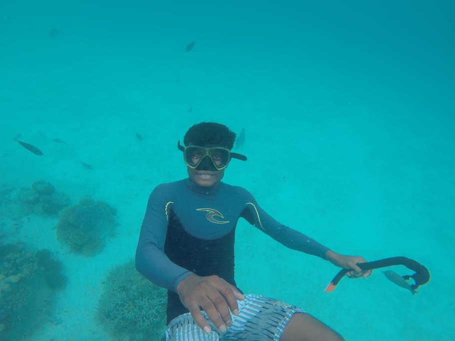 Best snorkeling points