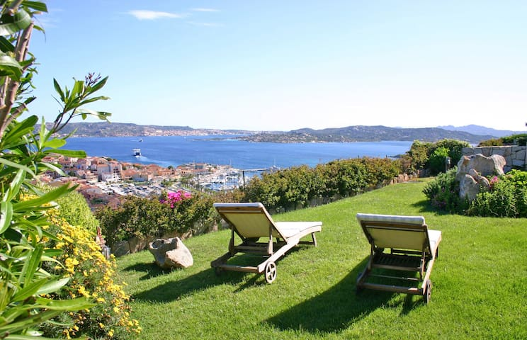 Exclusive Villa with Panorama sea view and garden - Palau - Villa