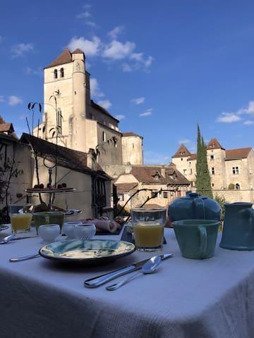 Bed & Breakfast, Maison Lapopie Terra