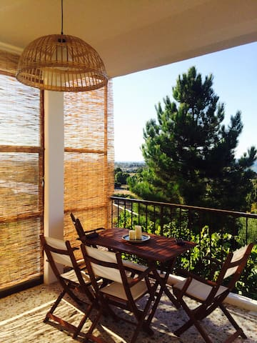 Country house with gorgeous view - Skala Oropou - Dom