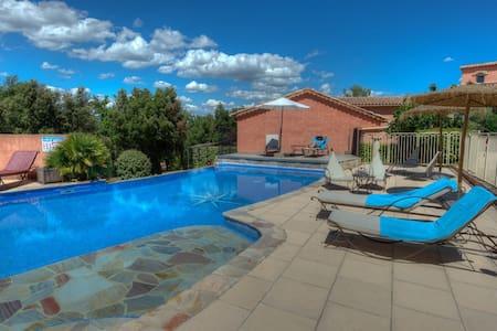 En Provence Verte, Calme, piscine, gîte Marquises - Néoules