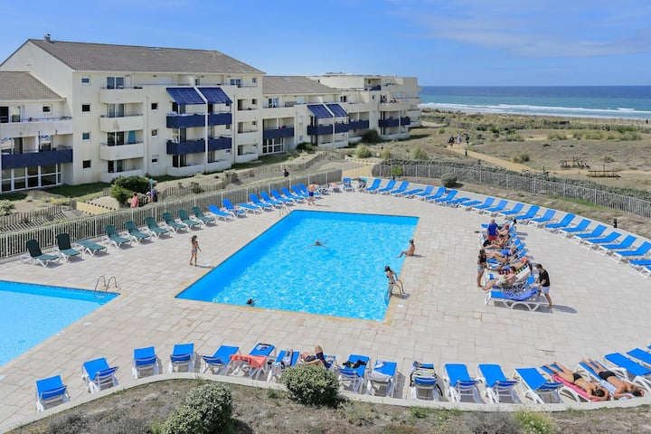 Lacanau Ocean : joli appartement 150m de l'océan