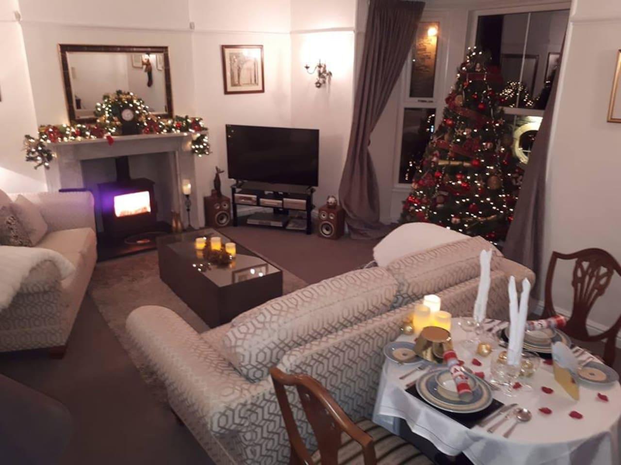 Great base for a Christmas Getaway