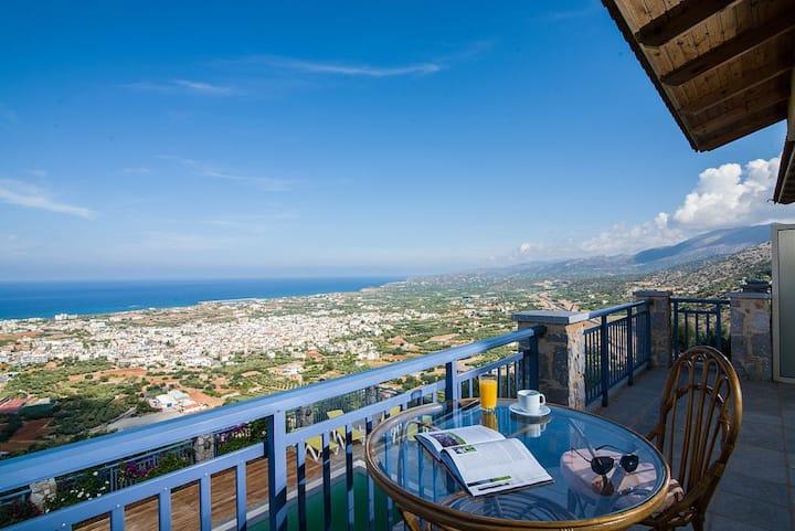 VillaMira Apartement, Malia,Crete