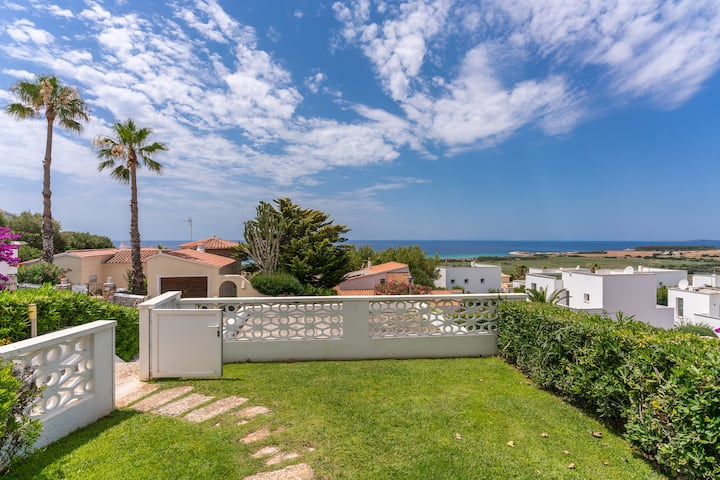Apartamento Playa Son Bou, Familiar/Piscina/vistas