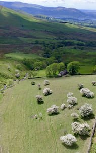 Thorny Crag, glamping barn