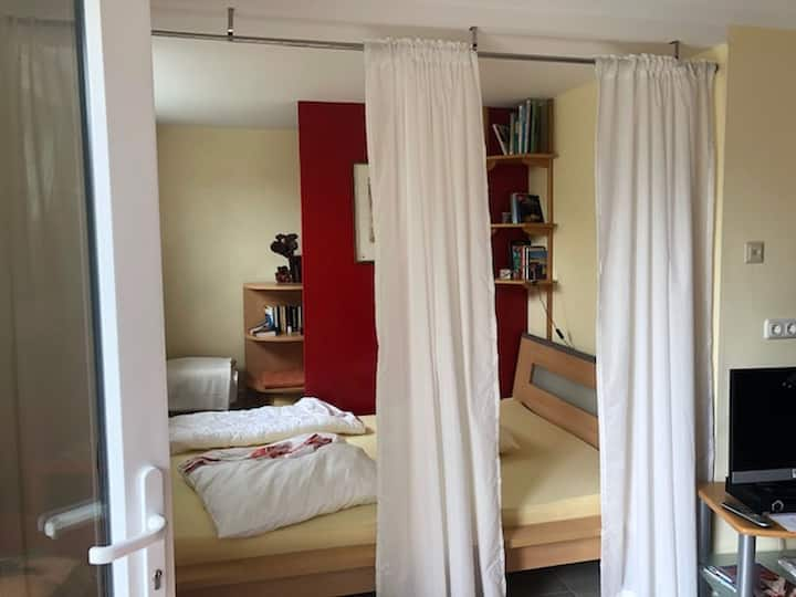 Villa Frieden (Trendelburg-Sielen) -, Villa Frieden, 41qm, 1 Wohnschlafzimmer, max. 3 Personen