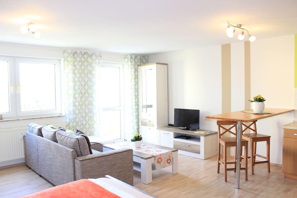 Eckcouch/Wohnbereich