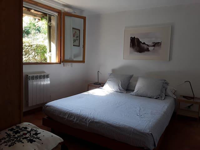 Chambre avec un lit en 1, 60 m