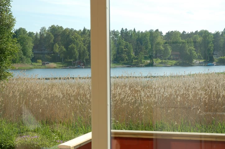Sea view cottage 30 meters from the Baltic - Norrtälje SO - Srub