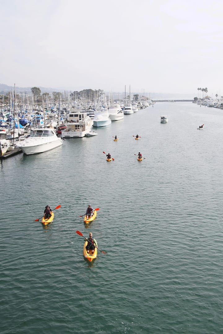 Kayaking Dana Point Harbor