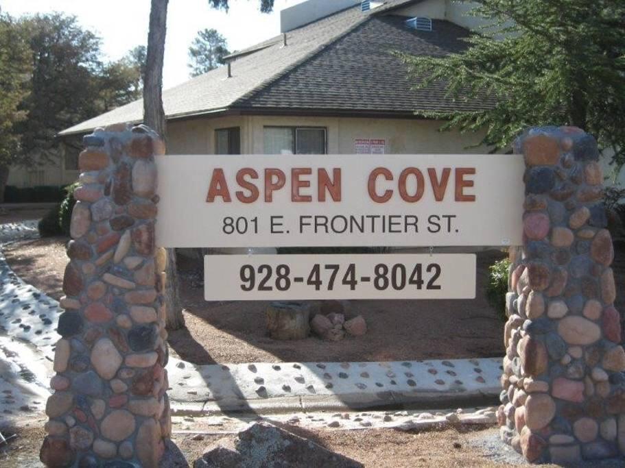 Sign on the corner