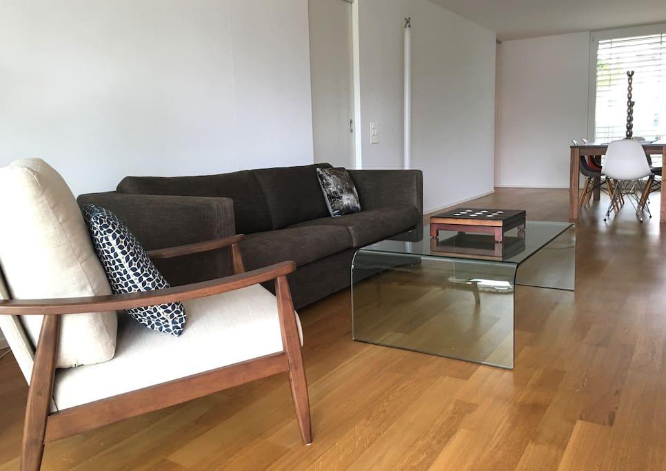 Comfortable modern living room