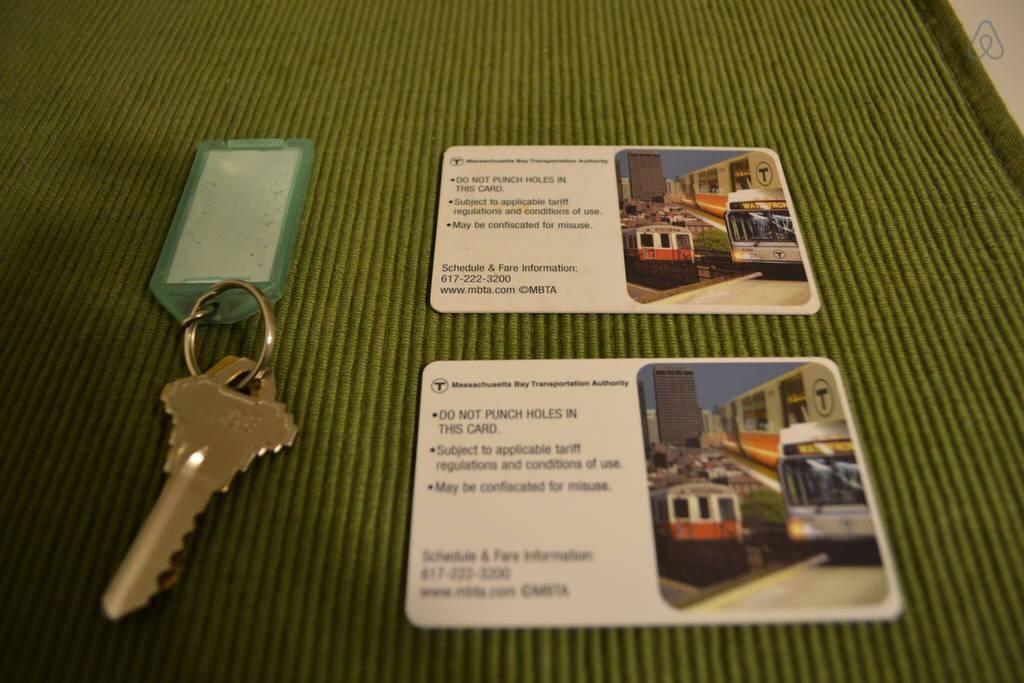Keys and MBTA Passes