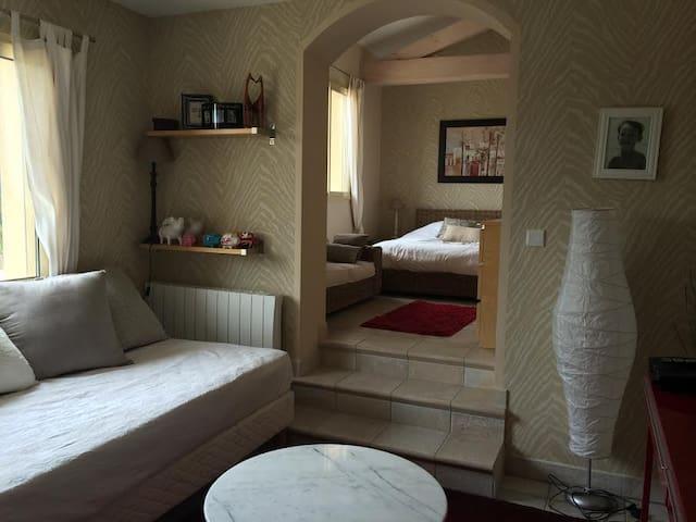 Suite parentale dans villa contemporaine lyon - Craponne - Huis