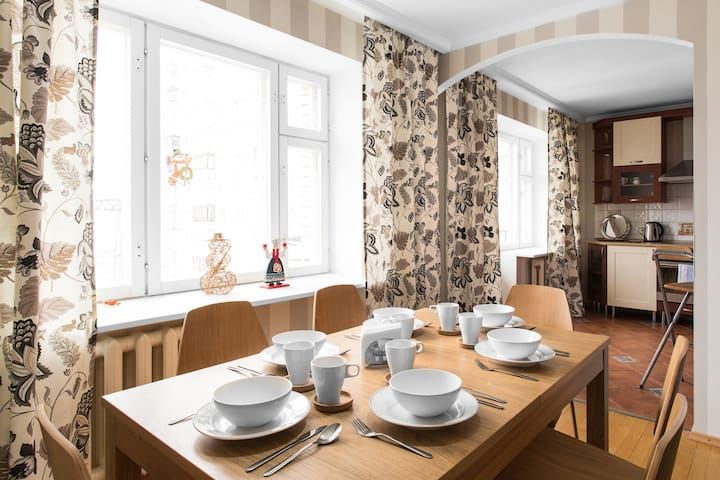 Apartment for true travellers - Sankt-Peterburg - Apartment