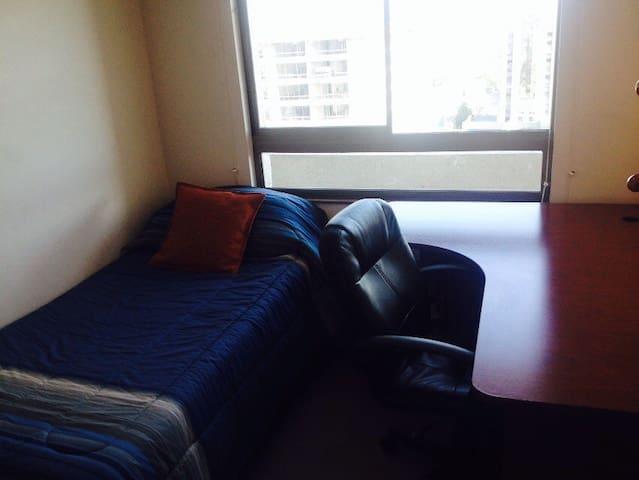 Cómoda habitación con baño privado - Ñuñoa - Appartement en résidence