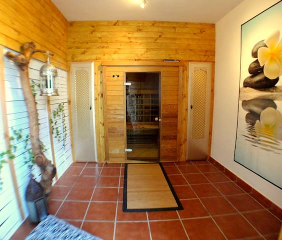 Chill out and sauna room