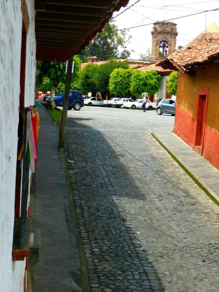 Casa Santa Eugenia en el centro de Pátzcuaro
