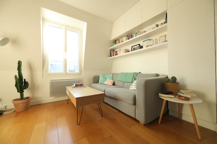 Bel appartement au Canal Saint Martin