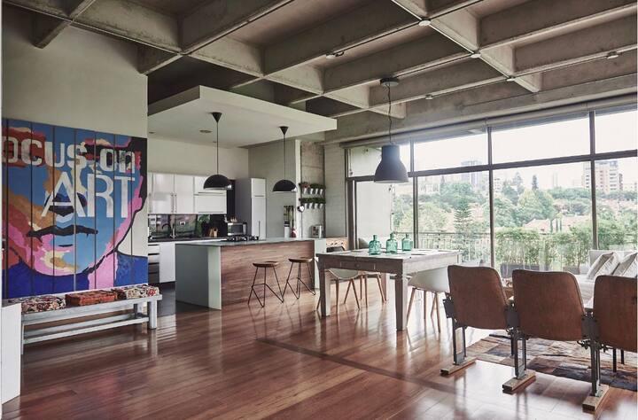 Modern & industrial Loft  in Provenza