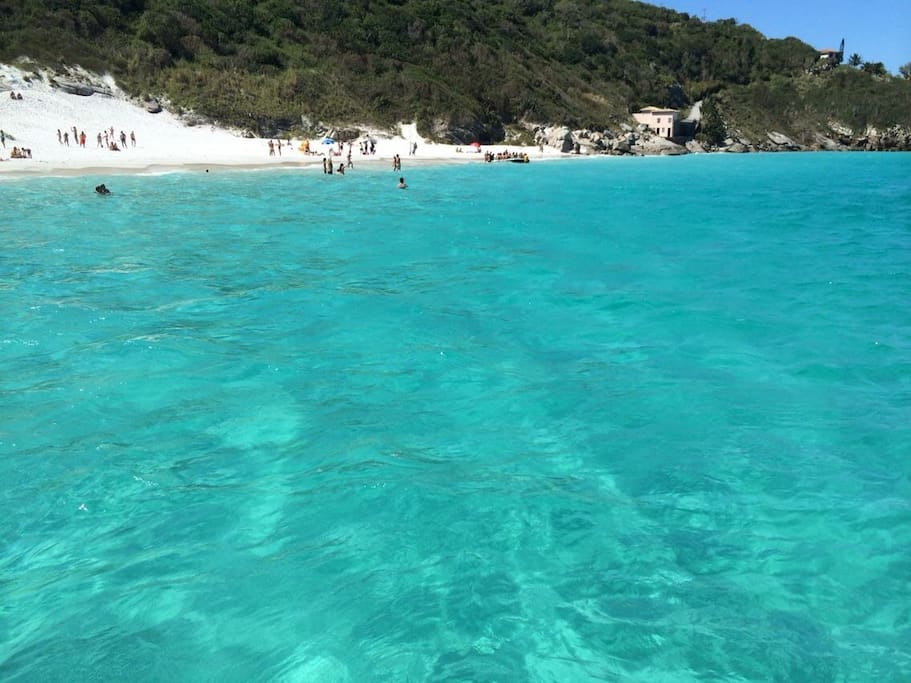 Foto tirada durante o passeio de barco a Praia do Forno.