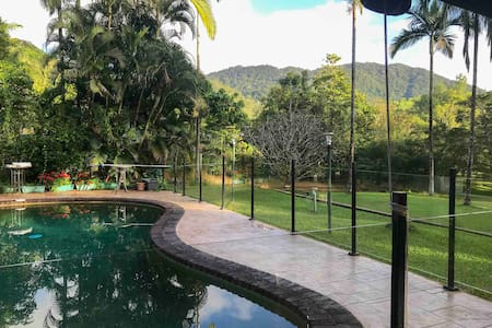 Mango Park Acreage Cairns★kingbed, pool, kitchen