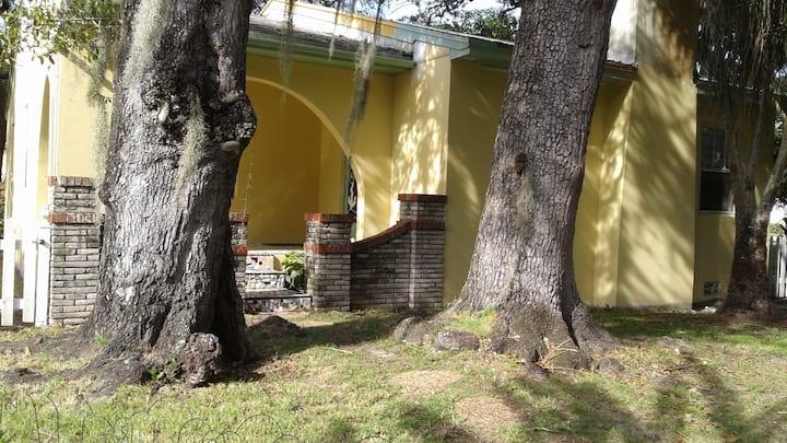 Historic Mid Century Spanish Revival Cottage