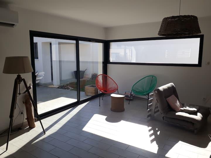 Villa 82 m² dans centre des Mathes La Palmyre