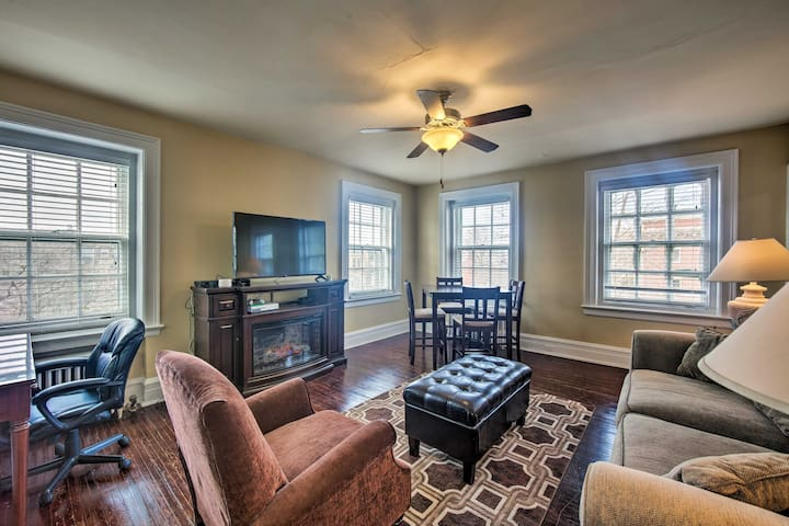 NEW! Cozy Reading Apt - Walk to Shops & Dining!