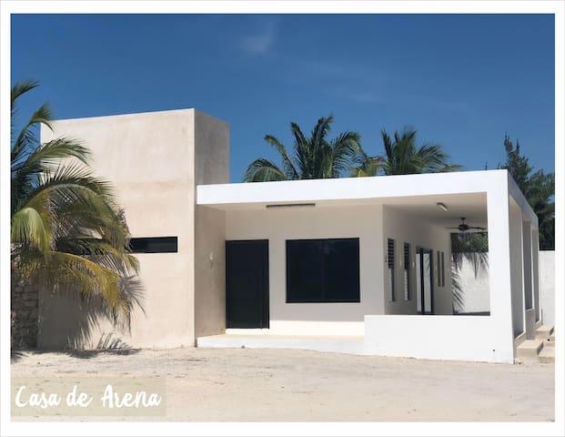Casa de Arena Telchac Puerto