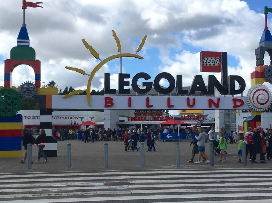 Tæt på Legoland
