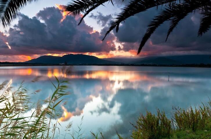 Laguna di Nora, Is Molas