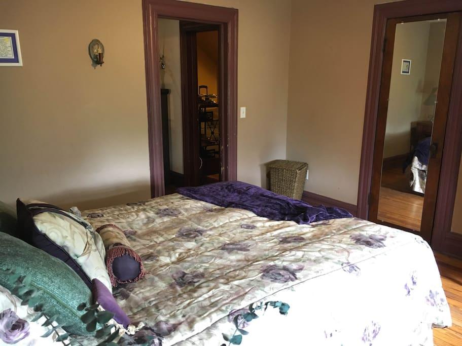 3rd Floor Suite Bedroom  -    Suite bedroom also has a closet and dresser