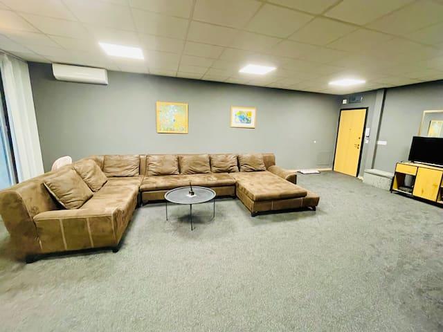Big sofa for 7 people ...