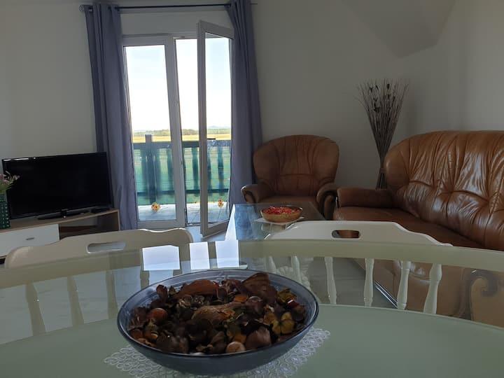 Appart de 80m2+balcon, 10 min de la petite Venise