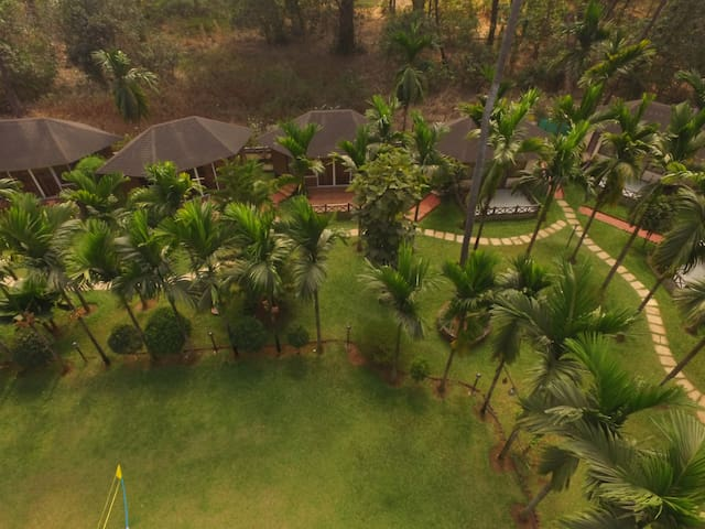 Cute Cottage near Varsoli beach - Alibag - Hotel butik