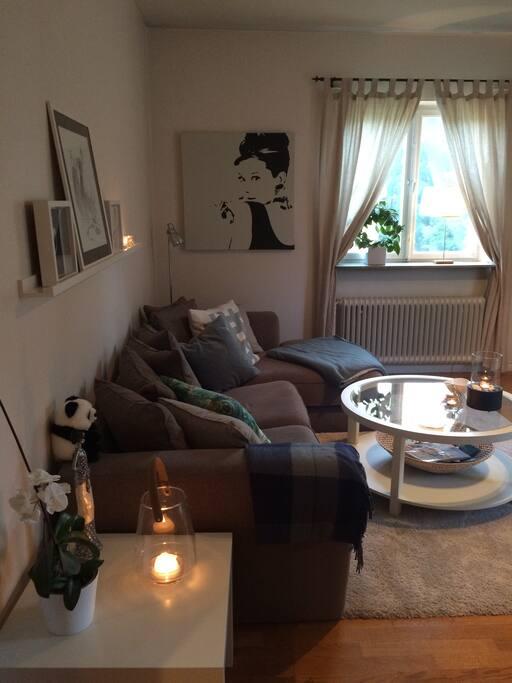 Soffa, vardagsrum